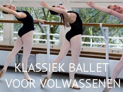 Lessen - Klassiek ballet voor volwassenen - Balletstudio Marieke van der Heijden