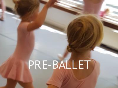 Lessen - Pre-Ballet - Balletstudio Marieke van der Heijden