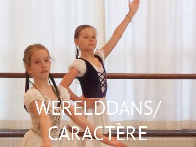 Lessen - WerelddansCaractere - Balletstudio Marieke van der Heijden